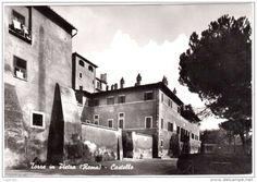 Italien - TORRE IN PIETRA ROMA CASTELLO VIAGGIATA 1973