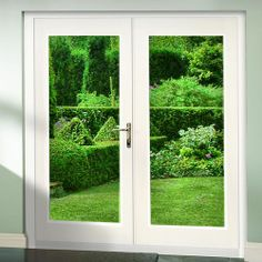 4ft White La Porte French Doors Fully Finished Whitefrenchdoors External Door Sets