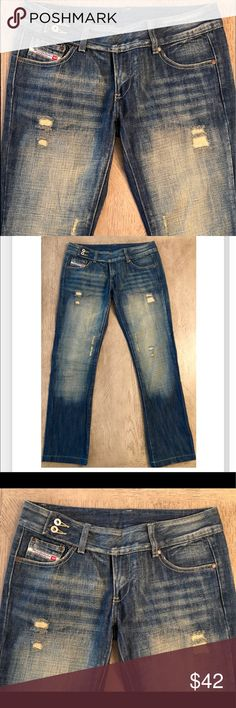 f691fa57 Like new distressed Diesel Industry Jeans. Sz 29 Like new distressed Diesel  Industry Jeans.