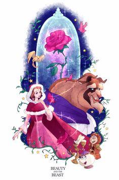 Bella Disney, Disney Amor, Arte Disney, Disney Fan Art, Disney Magic, Cute Disney Pictures, Disney Princess Pictures, Disney Pixar, Disney Love