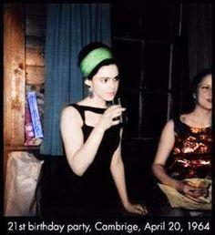 Edie Sedgwick's 21st Birthday Party, 20/4/1964 coloured by Ross Van Derh