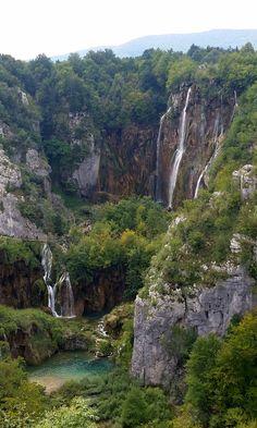 Ignored TLC's advice Plitvice Lakes National Park Croatia [1836x3064] [OC]   landscape Nature Photos