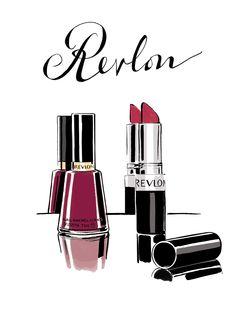 Jason-Brooks-Revlon-still-life-lipstick-cosmetics-revlon-make-up-nail-varnish-fashion-product-illustration-L.png 1,000×1,402 pixels