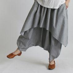 anvai 涼やか 夏のさらさら紗織 コットン100% 重ね ももんが アラジン パンツB42 Skirts, Pants, Clothes, Fashion, Trouser Pants, Outfits, Moda, Clothing, Kleding