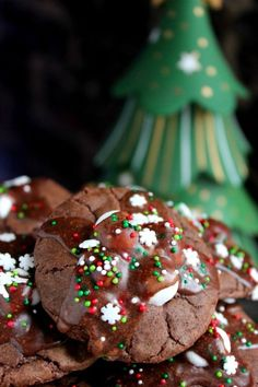 Hot Chocolate Cookies are super soft, topped with marshmallows and covered in a luscious chocolate glaze. They're easy to make and so delicious!