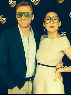 Kevin McKidd and Sandro Oh - TCAs