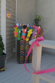My Little Pony Party - Pool Noodle Ponies!