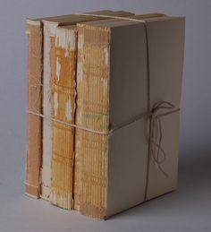create that RH vintage book look