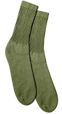 Mens Athletic Cushion Crew Sock Orange Tiger Stripe Patch Long Sock Outdoor