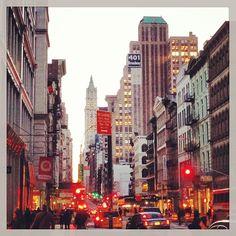Photo by bonvivantstyle #nyc #broadway
