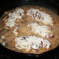 Easy Elegant Skillet Chicken Supreme  -Allrecipes.com    This dish was delicious! All 3 boys loved it :)