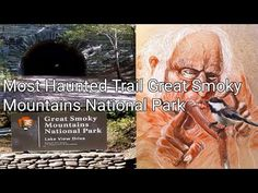 Most Haunted Trail Great Smoky Mountains National Park Tunnel To Nowhere and Spearfinger Hike Smoky Mountain National Park, Most Haunted, Great Smoky Mountains, Lake View, Youtubers, Trail, National Parks, Hiking, Join