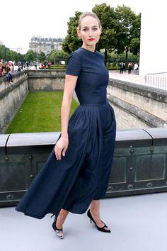 Dior Front Row  Leelee Sobieski in Dior