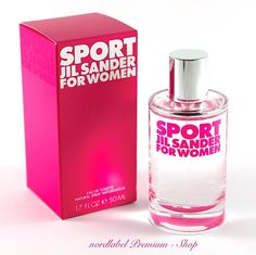 Jil Sander Sport for Woman 50 ml EDT NEU & OVP!