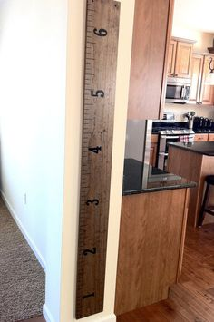 Solid Wood Family Growth Chart - Custom Made-to-Order