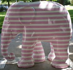 Title: Delirium Tremens Artist: Jes Wind Andersen Location: Ørstedparken African Forest Elephant, Asian Elephant, Elephas Maximus, City Events, Elephant Parade, Copenhagen, Mammals, Elephants, Animal