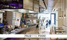 """Feliz Fine Food - Groningen - Vegetarisch eten is vaak nogal een ondergeschoven kindje. Bij ons staan er altijd drie gerechten zonder vlees op de kaart, en dan niet zo'n saaie groentequiche. En onze chefkok kan op verzoek ook heel goed veganistisch koken."""""""