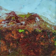 Il profumo della Terra, 2017, mixed media on canvas, cm 80x80 #ckcontemporary #art #painting #cityscape #contemporaryart