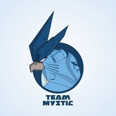 ArtStation - Team Mystic Mecha Badge, Isha Sumantapura