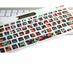 These are cute!  keyboard stickers and decals for apple laptops and desktops   kidecals