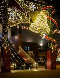 Christmas Illuminations in Yokohama, Japan