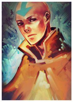 Avatar the Last Airbender - Avatar Aang by ~chocosweete on deviantART Team Avatar, Avatar Aang, Avatar The Last Airbender, Zuko, Avatar World, Avatar Series, Fire Nation, Animation, Legend Of Korra