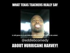 What Texas (Teachers) really say about Hurricane Harvey - YouTube