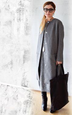 die EDELFABRIK | Mein Ü40 Blog für Mode und Beauty: 3 gute Gründe warum Du mit einem Strickkleid immer...