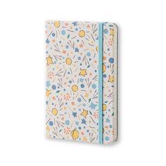 Moleskine Limited Edition Petit Prince Pocket Ruled White Canvas - Pattern alt