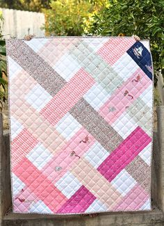 Out to Sea Betty Quilt (and scrap giveaway)