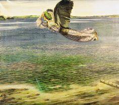 Agnes Slott-Moller (1862-1937)  Symbolist painter