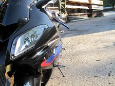 My new S1000RR in saphire black with BMW Motorsport colors