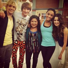 Austin and Ally crew with Kira in season 2