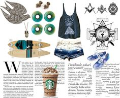 """illuminati"" by sarahblackberry ❤ liked on Polyvore"