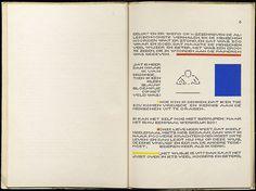 Bart van der Leck, H.C. Andersen, Het Vlas (The Flax), 1941