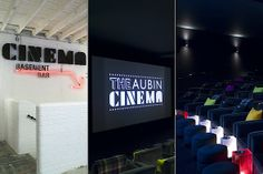 Aubin Cinema, my favourite cinema in London!