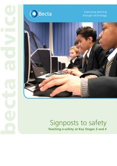 Teaching e-safety at Key Stages 3 and 4