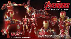 """MAFEX """"The Avengers Age of Ultron"""" IRON MAN MARK43"""