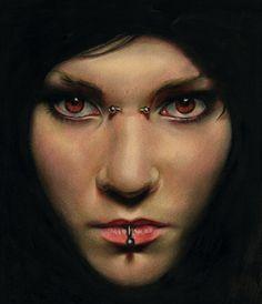 Brian Scott [Briscott] ~ British Portrait painter   Tutt'Art@   Pittura * Scultura * Poesia * Musica  