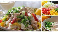 "Fotopostup: Šalát ""dúha"" Tacos, Mexican, Ethnic Recipes, Food, Essen, Meals, Yemek, Mexicans, Eten"