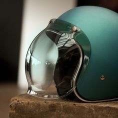 Biltwell Green Gradient - Bubble Shield