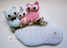 The Owl family sign by MySweetfelt on Etsy, €45.00