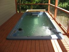 Endless Pool Swim Spa, the perfect combination for exercise and relaxation.