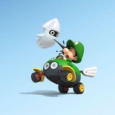 Baby Luigi- Mario Kart 8