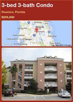 3-bed 3-bath Condo in Reunion, Florida ►$255,000 #PropertyForSale #RealEstate #Florida http://florida-magic.com/properties/82489-condo-for-sale-in-reunion-florida-with-3-bedroom-3-bathroom