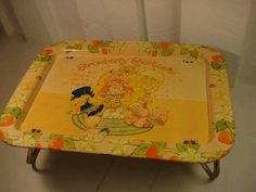 TV TRAYS! made Saturday morning cartoons awesome!