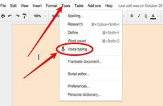 Voice Typing Is A Great Feature in Google Docs- Here Is How to Use It ~ Educational Technology and Mobile Learning