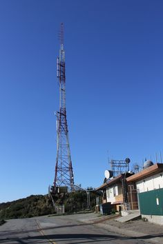 KTSF tower on San Bruno Mt. San Bruno, Bay Area, Tower, California, Usa, Computer Case, Towers, Building