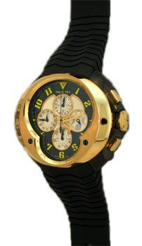 Franc Vila: Automatic Yellow Edition Men's Watch, « Holiday Adds