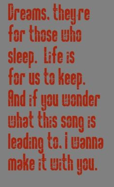 Bread Make it With You - song lyrics, songs, music lyrics, song quotes, music quotes